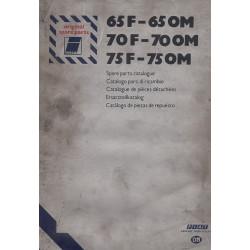 Fiat Iveco 65 F - 65 OM / 70 F - 70 OM / 75 F - 75 OM (77) - Ersatzteilkatalog