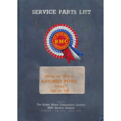 Austin and Morris Type 99H and 12H (67) - Ersatzteilkatalog Parts Catalogue