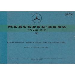 Mercedes Benz LP 1517 - (1968) - Ersatzteilkatalog
