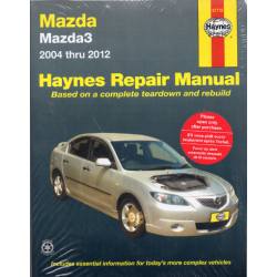 Mazda 3 (04-12) - Repair Manual Haynes