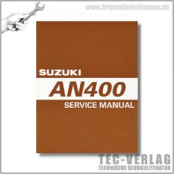 Suzuki AN400 K7 (03-07) - Service Manual