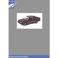 VW Jetta I, Typ 16 (79-84) Heizung und Klimaanlage - Reparaturanleitung