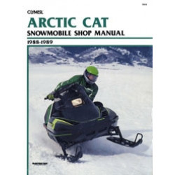 Arctic Cat Snowmobile (88-89) - Shop Manual