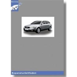 Audi A4 8E (01-08) 6 Gang-Schaltgetriebe 0A3 Allradantrieb - Reparaturleitfaden
