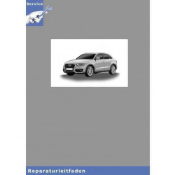 Audi Q3 8U (11>) - 6 Gang-Schaltgetriebe 02Q AWD - Reparaturleitfaden