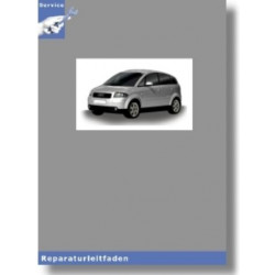 Audi A2 8Z (00-05) - Karosserie- Montagearbeiten Innen - Reparaturleitfaden