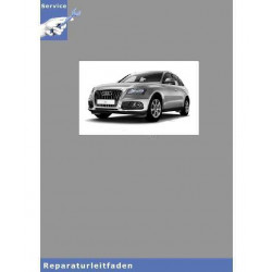 Audi Q5 8R (08>) 8-Gang Automatikgetriebe 0BK Allrad - Reparaturleitfaden