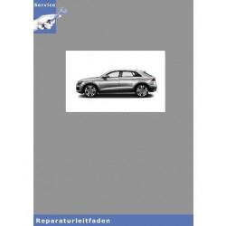 Audi Q8 (18>) Fahrwerk Front- und Allradantrieb - Reparaturleitfaden