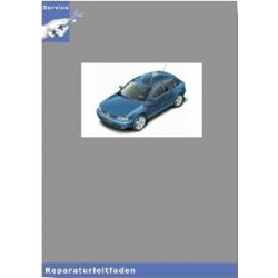 Audi A3 8L (97-05) Schaltgetriebe 02C Allrad Achsantriebe - Reparaturleitfaden
