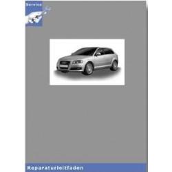 Audi A3 8P (04) Stromlaufplan mit Batterie im Motorraum  - Reparaturleitfaden