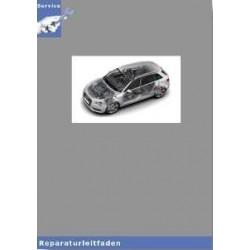 Audi A3 8V (12>) Achsantrieb hinten 0CQ - Reparaturleitfaden