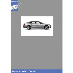 Audi A5 8T (07>) 6 Gang-Schaltgetriebe 0B4 - Reparaturleitfaden