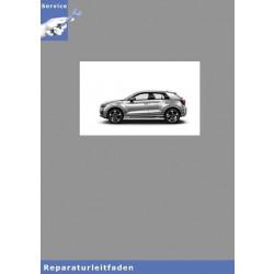 Audi Q2 (16>) Instandsetzung 4 Zyl TDI Common Rail - Reparaturleitfaden