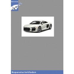 Audi R8 (15>) Karosserie Montagearbeiten Innen - Reparaturleitfaden