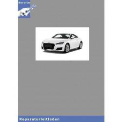 Audi TT 8N (98-06) Achsantrieb Hinten 02D - Reparaturleitfaden