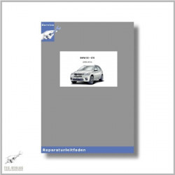 BMW X5 E70 (09-14) 3.0 L Motor N55 - Werkstatthandbuch Motor/Motorelektrik
