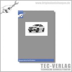 BMW X6 E72 (09-11) Fahrwerk und Bremsen - Werkstatthandbuch