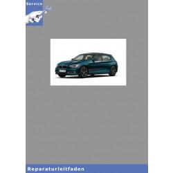 BMW 1er F21 (12>) Karosserie Ausstattung - Werkstatthandbuch