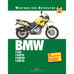 BMW F650 / F650ST / F650GS / F650CS (93-08) - Reparaturanleitung Schrauberbuch