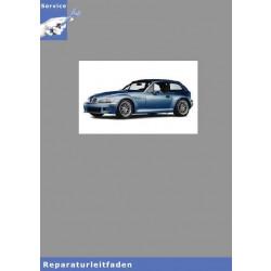 BMW Z3 E36 Coupé (97-02) Karosserie / Karosserieinstandsetzung - Werkstatthandbuch