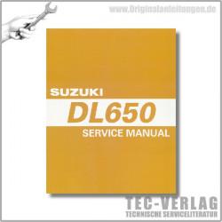 Suzuki DL 650 (05-11) - Service Manual