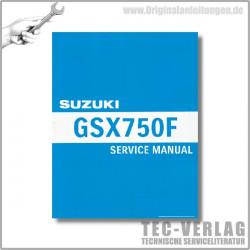 Suzuki GSX750F (99-06)- Service Manual