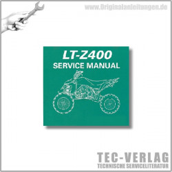 Suzuki LT-Z400 (09) - Service Manual - CD