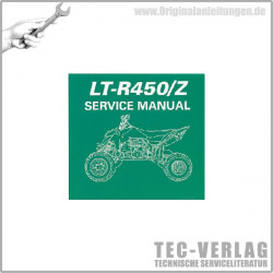 Suzuki LT-R450/Z (06-11) - Service Manual - CD