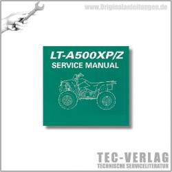 Suzuki LT-A500XP/Z (09) - Service Manual- CD