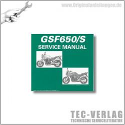 Suzuki GSF650/S (05-06) - Wartungsanleitung - CD