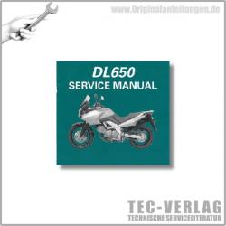 Suzuki DL650/A (04-07) - Wartungsanleitung - CD