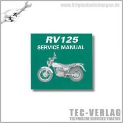 Suzuki RV125 (03-06) - Wartungsanleitung - CD