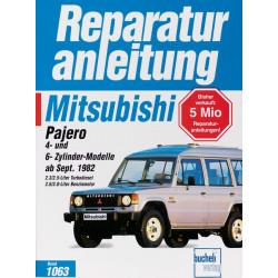 Mitsubishi Pajero TD / Benziner (82>) 2.3 / 2.5 / 2.6 / 3.0 Reparaturanleitung