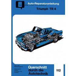 Triumph TR 4- Reparaturanleitung