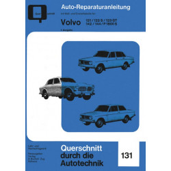 Volvo 121 / 122 S / 123 GT / 142 / 144 / P 1800 S - Reparaturanleitung