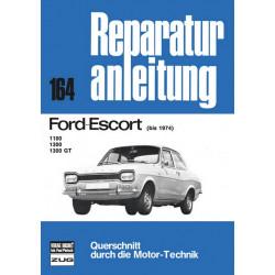 Ford Escort 1100 / 1300 / 1300 GT (<74) - Reparaturanleitung