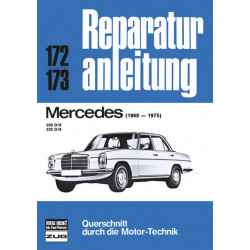 Mercedes 200 D/8 , 220 D/8 (68-75) - Reparaturanleitung