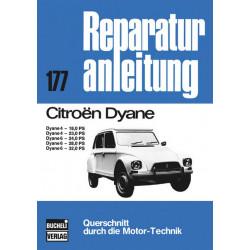 Citroen Dyane 4 / 6 - Reparaturanleitung Bucheli