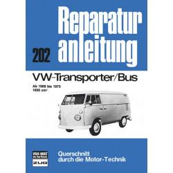 VW Transporter / Bus 1600ccm (68-75) - Reparaturanleitung
