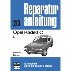 Opel Kadett C (73-77) - Reparaturanleitung