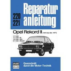 Opel Rekord II (72-77) - Reparaturanleitung