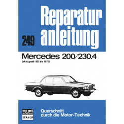 Mercedes W115 (73-75) 200 / 230.4 - Reparaturanleitung
