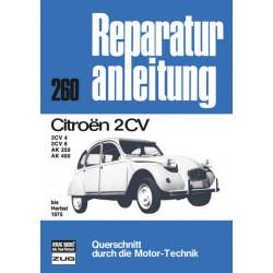 Citroen 2 CV (<75) - Reparaturanleitung