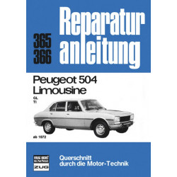 Peugeot 504 GL / TI (72>) - Reparaturanleitung