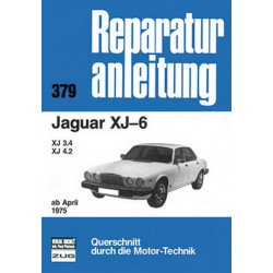 Jaguar XJ-6 / XJ 3.4 / XJ 4.2 (75>) - Reparaturanleitung