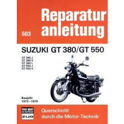 Suzuki GT 380 / GT 550 (1972-1979) - Reparaturanleitung
