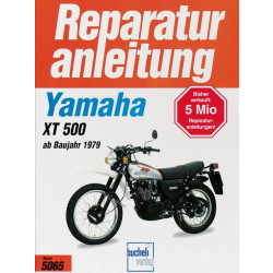 Yamaha XT 500  (79>) - Reparaturanleitung