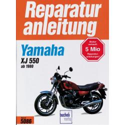 Yamaha XJ 550 (80>) - Reparaturanleitung
