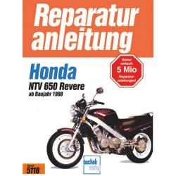 Honda NTV 650 Revere (88>) - Reparaturanleitung