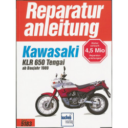 Kawasaki KLR 600/650 Tengai (89>) - Reparaturanleitung